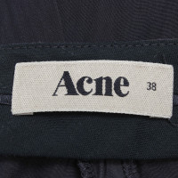 Acne Summer trousers in dark blue