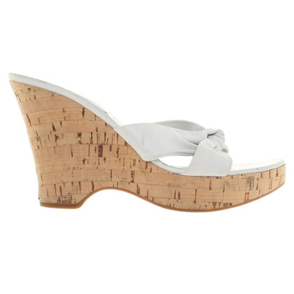 Sergio Rossi Wedges with cork sole