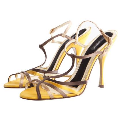 Dolce & Gabbana satin sandal