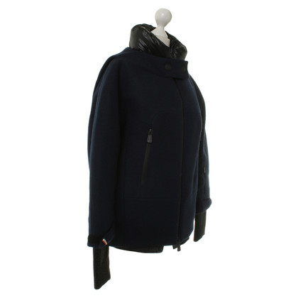 Moncler Winter jas in donkerblauw