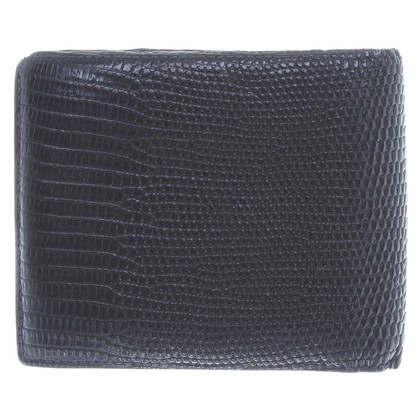 Bottega Veneta Reptile leather wallet