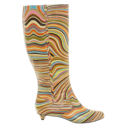 Paul Smith Leather boots in a multicolor