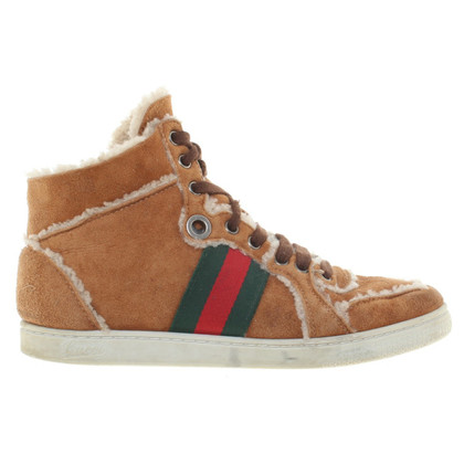 Gucci Allineato High Top Sneakers