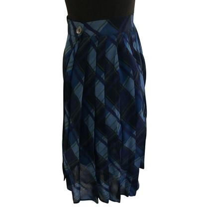 Blumarine Pleated Mini Skirt