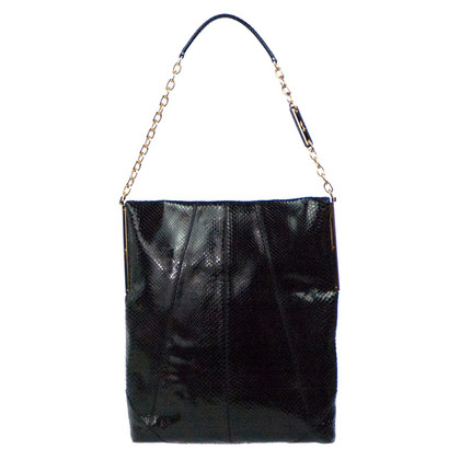 "Roger Vivier ""Mikado Flat Bag"" in pitone"