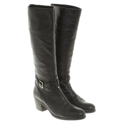 Prada Boots in black leather