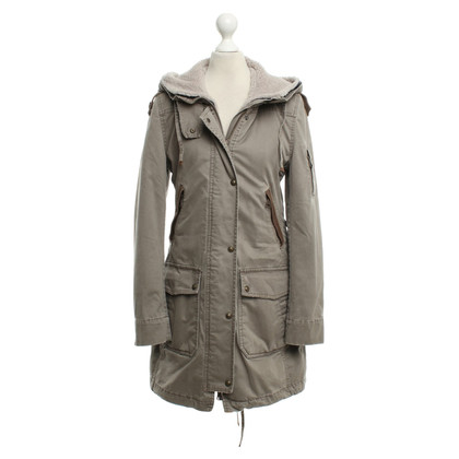 Drykorn Parka in Taupe