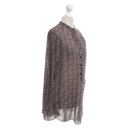 Windsor Zijden blouse met patroon