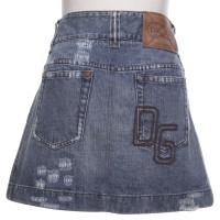 D&G Denim skirt in blue
