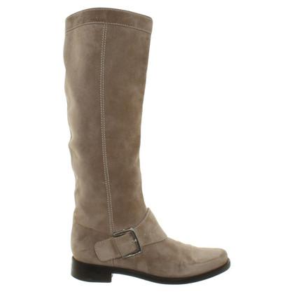 Sergio Rossi Suede boots
