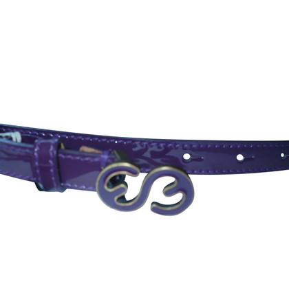 Escada Narrow belt in purple