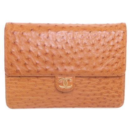 """Chanel Pelle di struzzo """"Flap Bag"""""""