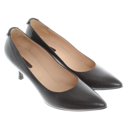 Longchamp pumps in nero
