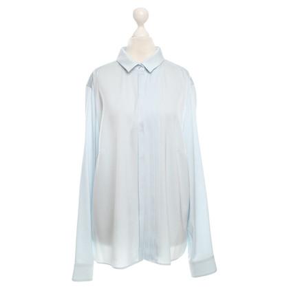 Hugo Boss Silk blouse in light blue