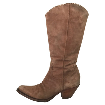 Ermanno Scervino boot in suede