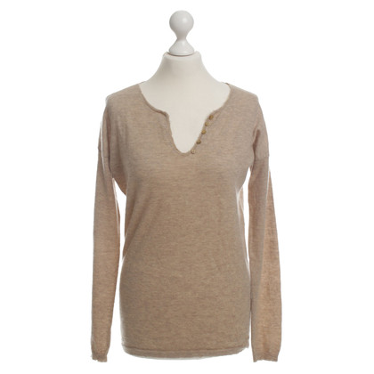 Zadig & Voltaire Cashmere sweater with embroidery