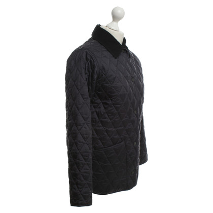 Barbour Giacca con diamante quilting