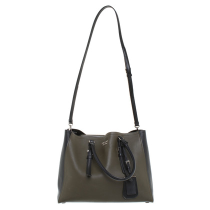 Prada Tote Bag in Bicolor