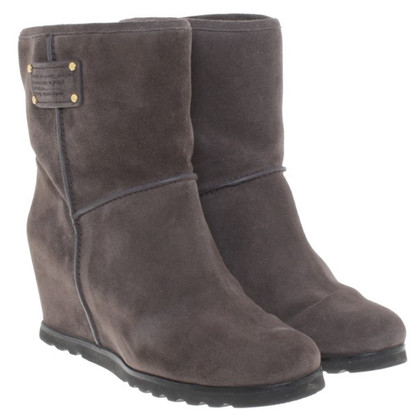 Marc Jacobs Ankle Boots in Gray
