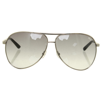 Marc Jacobs Aviator sunglasses in silver