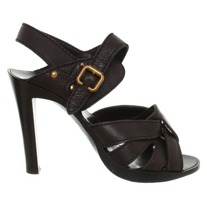 Chloé Sandals in Dark Brown