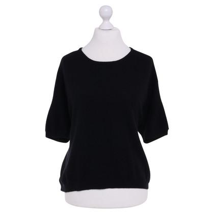 Schumacher Knitted sweater in black