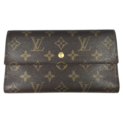 "Louis Vuitton ""Porte Trésor Monogram Canvas"""