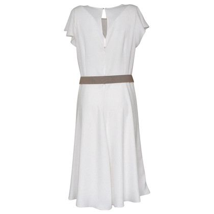 P.A.R.O.S.H. Cremefarbenes Kleid