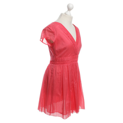 Armani Jeans Dress in Coral Red