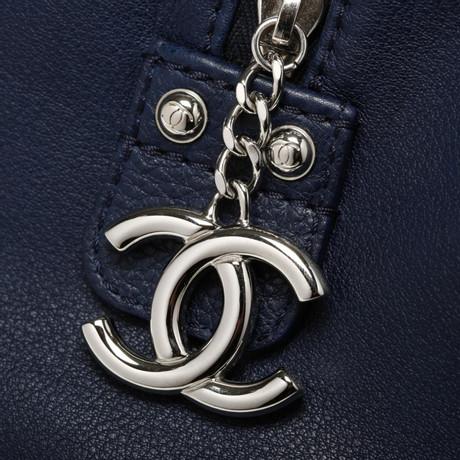 Verkauf Günstigen Preisen Chanel Bowling Bag Blau Spielraum Günstig Online Echt Günstig Kaufen Für Billig 79SKdLL