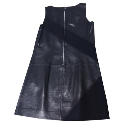 Michael Kors MICHAEL LEATHER DRESS 1 LINE KORS DEFILE