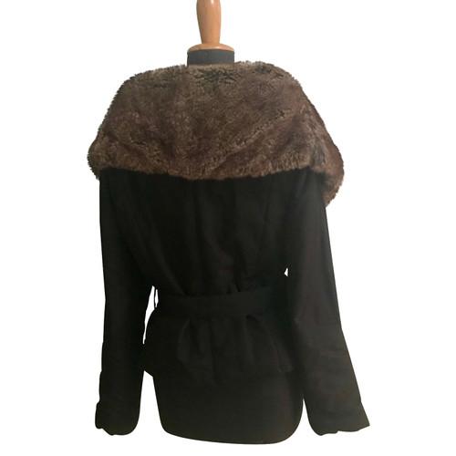 premium selection 4c5da 6b782 Roberto Cavalli Giacca con collo in pelliccia ecologica ...