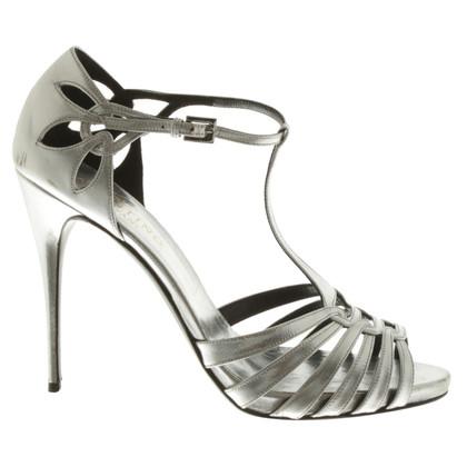 Valentino Sandals in metallic look