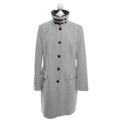 Cinque Coat in light gray