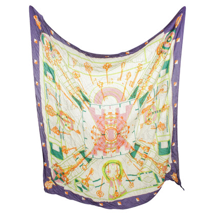 Hermès Cloth with patterns