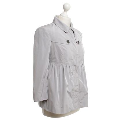 Burberry Peplum jacket in grey