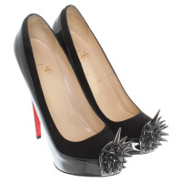 Christian Louboutin pumps with spiked studs