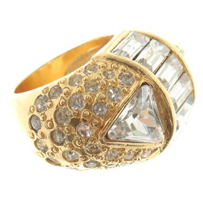 Gianni Versace Ring with gemstones