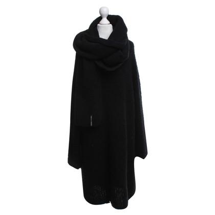 Marc Cain Wollen jurk in zwart
