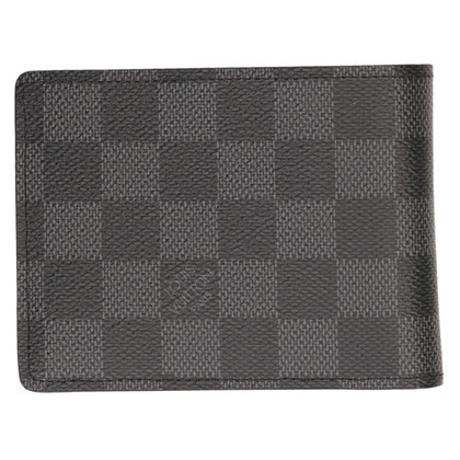 Louis Vuitton Porte-monnaie de Damier Graphite Canvas