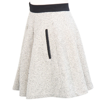 French Connection skirt in black and white