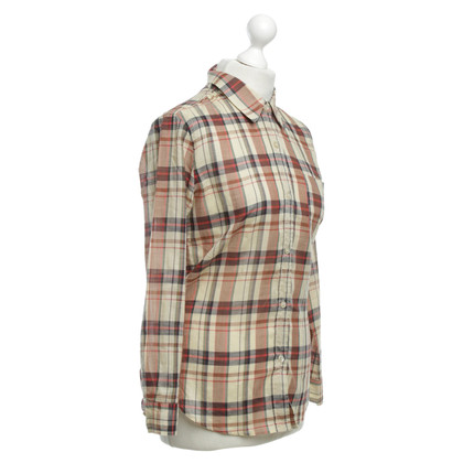 Isabel Marant Etoile Blouse with check pattern