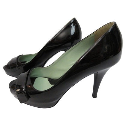 Sport Max Peeptoes patent leather