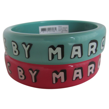 Marc by Marc Jacobs Bangles with logo