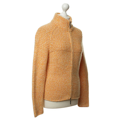 Joe Taft Kaschmirstrickjacke in Orange