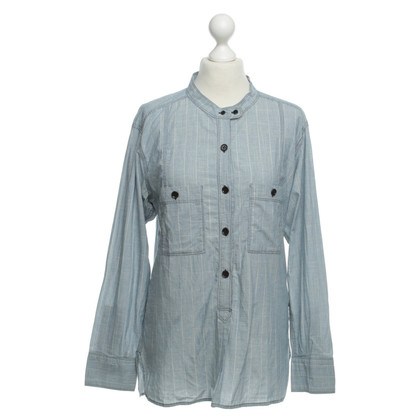 Isabel Marant Etoile Blauwe blouse mate 3
