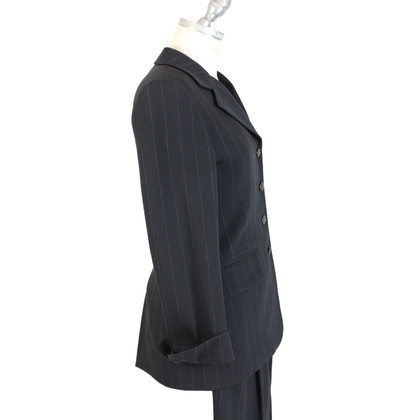 Prada Prada gray pinstripe wool jacket suit