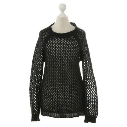 Isabel Marant Etoile Coarse knit sweater in black