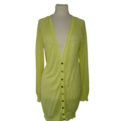 Strenesse Blue Cardigan in yellow
