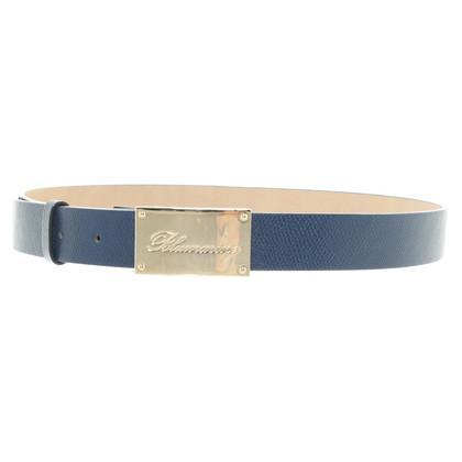 Blumarine Cintura in blu